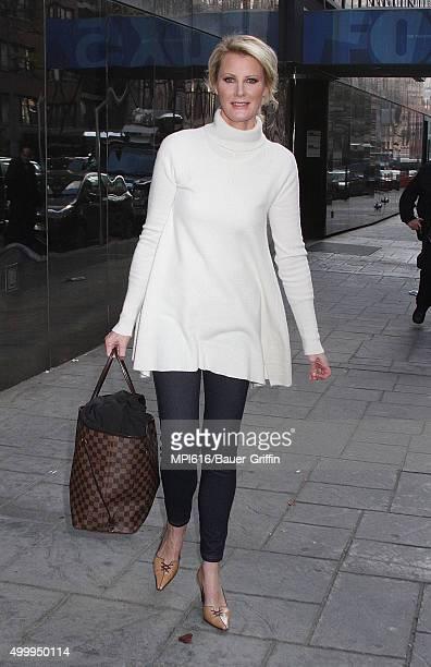 Celebrity chef Sandra Lee seen leaving 'Good Day New York' on December 04 2015 in New York City