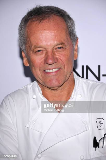 Celebrity chef Wolfgang Puck arrives at the opening night gala for the Los Angeles Food Wine Festival at Nokia Plaza LA LIVE on August 9 2012 in Los...