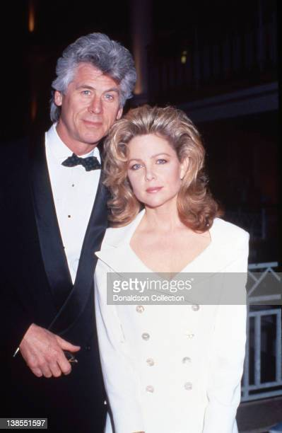 Celebrity couple Barry Bostwick and Lisa Hartman attend an event in March 1991 in Los Angeles California