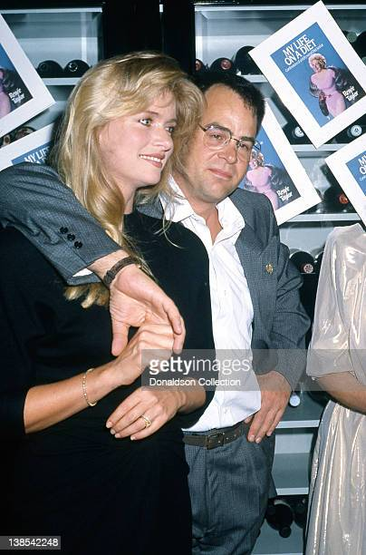"""Celebrity couple Donna Dixon and Dan Aykroyd attend the book release party for Renee Taylor's book """"My Life On A Diet, Confessions of a Hollywood..."""