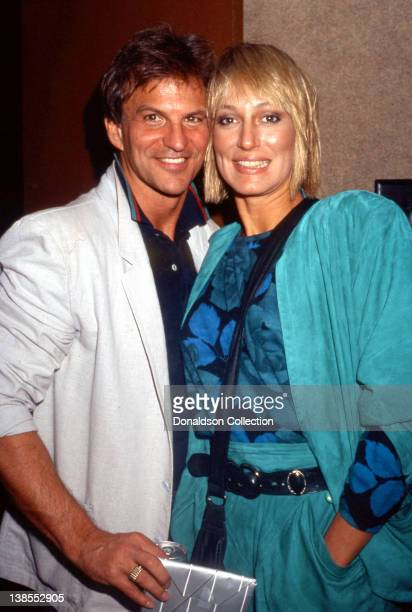 Celebrity couple Josh Taylor and Sandahl Bergman attend an event in circa 1985 in Los Angeles California