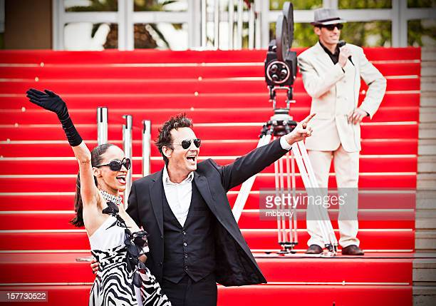 Coppia di celebrità sul red carpet di Cannes