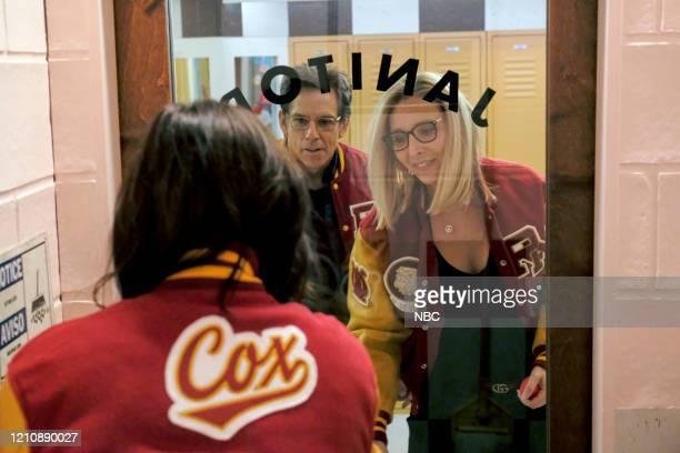 """Celebrity Escape Room"""" -- Pictured: Ben Stiller, Lisa Kudrow --"""