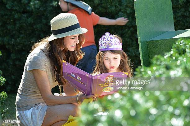 JUNIOR Celebrity fans and their kids attended the Los Angeles stop of Disney Junior's 'Pirate and Princess Power of Doing Good' tour outside...