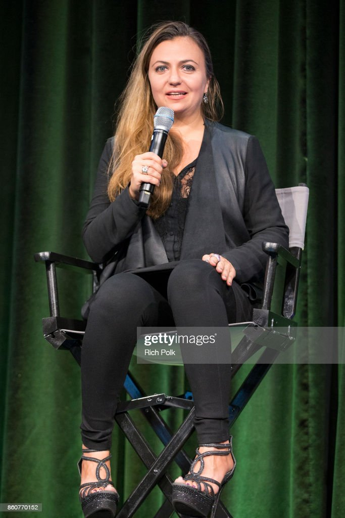 Celebrity Fashion Designer And Tech Innovator Dalia Macphee On Stage News Photo Getty Images