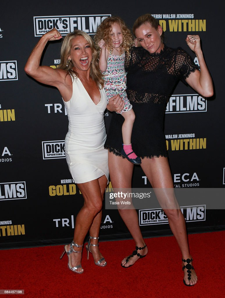 "Premiere Of ""Kerri Walsh Jennings: Gold Within"" - Arrivals : News Photo"