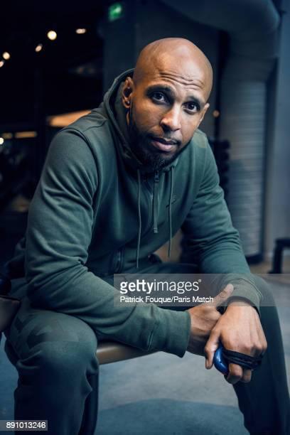 Celebrity fitness instructor Joel Bouraima aka Coach Joe is photographed for Paris Match on November 29 2017 in Paris France