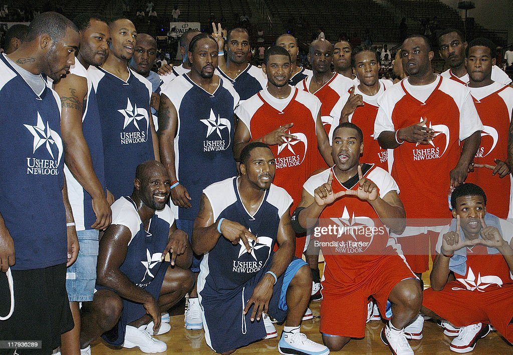 Usher?s New Look 1st Annual Celebrity Basketball Game - July 23, 2005