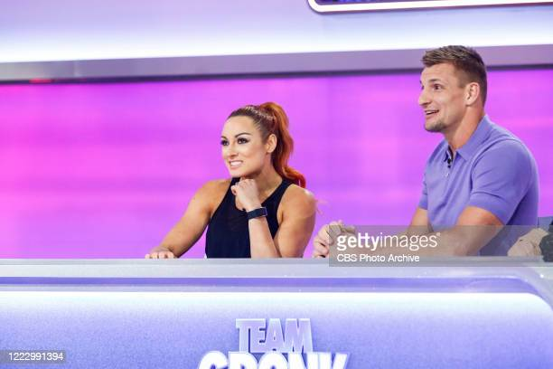 Celebrity Guests Becky Lynch and Joel McHale WWE Champion Becky Lynch joins Team Gronk and comedian and actor Joel McHale joins Team Venus as they...
