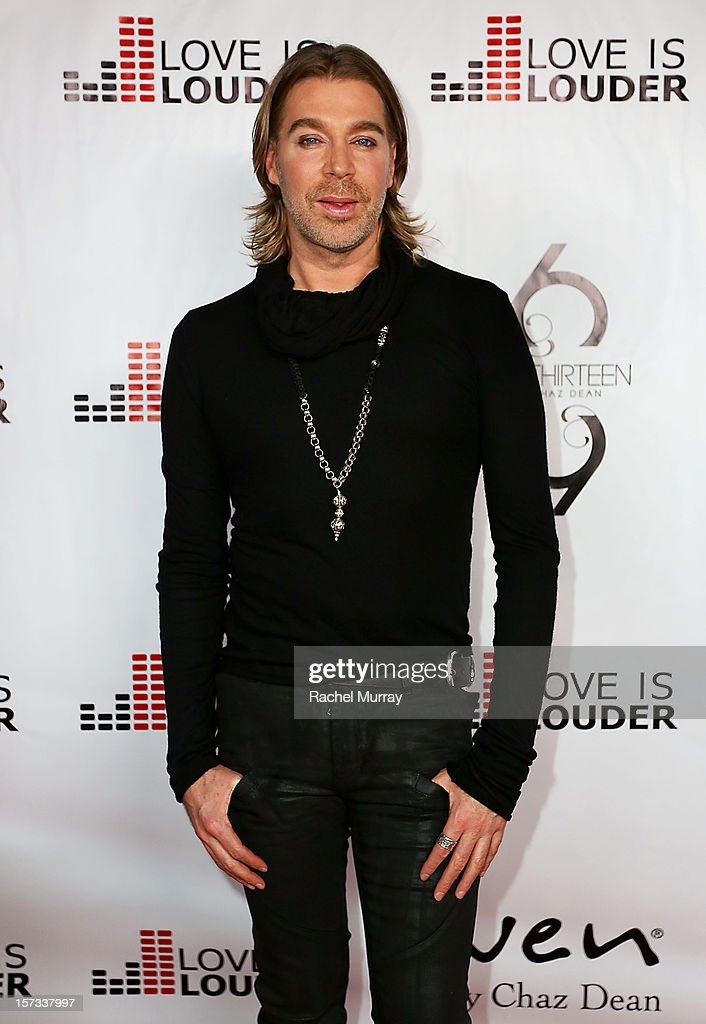 Celebrity Hair Stylist Chaz Dean attends Chaz Dean's holiday party benefitting the Love is Louder Movement on December 1, 2012 in Los Angeles, California.