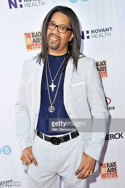 Celebrity hair stylist Elgin Charles attends the Black AIDS Institute 2015 Heroes in the Struggle Reception Gala and Awards Ceremony at Directors...