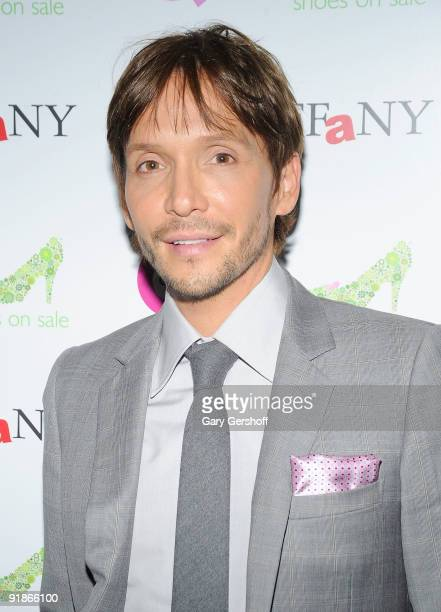 Celebrity hair stylist Ken Paves attends the 16th Annual QVC Presents FFANY Shoes On Sale event at Frederick P Rose Hall Jazz at Lincoln Center on...