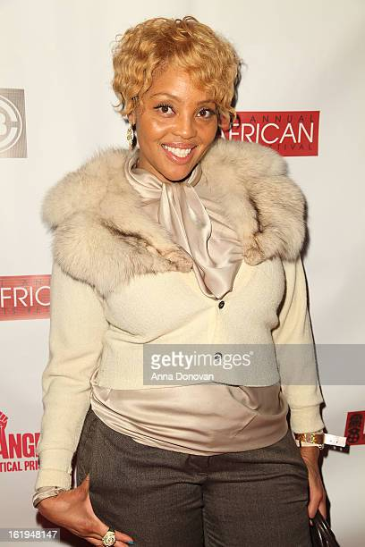 Celebrity hairstylist Mimi Miller attends the closing night at the Pan African film festival Free Angela And All Political Prisoners at Rave Cinemas...