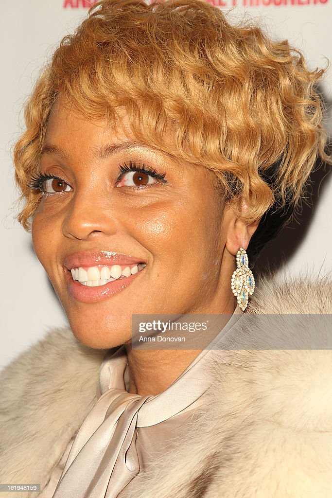Celebrity hairstylist Mimi Miller attends the closing night at the Pan African film festival 'Free Angela And All Political Prisoners' at Rave Cinemas on February 17, 2013 in Los Angeles, California.