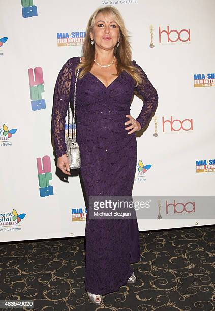 Celebrity Hairstylist Tina Cassady attends 1st Hollywood Beauty Awards Presented By LATF And Benefiting Children's Hospital Los Angeles at The Fonda...