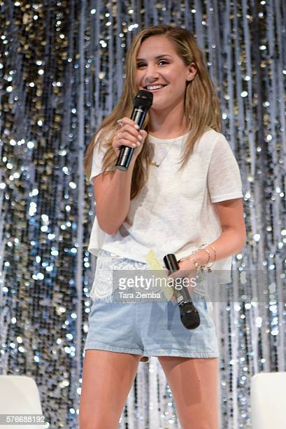 Celebrity host Electra Formosa attends The Celebrity Experience QA Panel at Hilton Universal Hotel on July 16 2016 in Los Angeles California