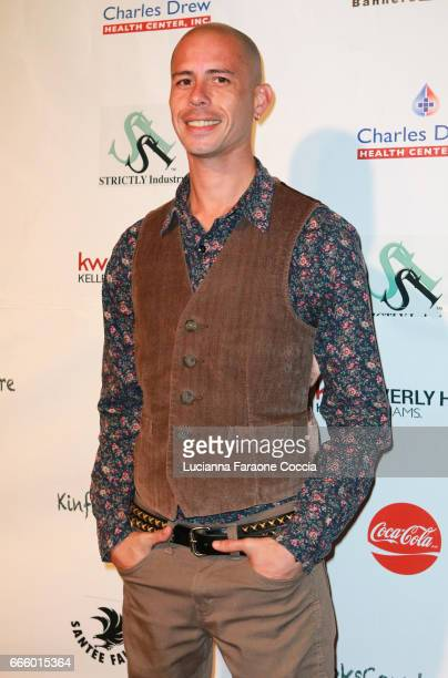 Celebrity jewelry designer Xavier Madera attends the Santee High School Fashion Show at Los Angeles Trade Technical College on April 7 2017 in Los...