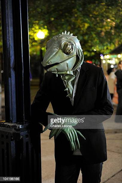 Celebrity Lizard attends 'LA Zombie' Premiere during the 35th Toronto International Film Festival at TIFF Bell Lightbox on September 16 2010 in...