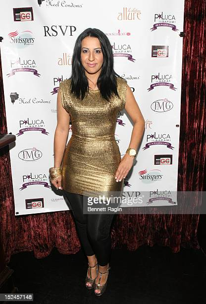 Celebrity makeup artist Grisel Companioni attends the PLuca4Barami Spring 2013 Fashion Show at RSVP on September 20 2012 in New York City