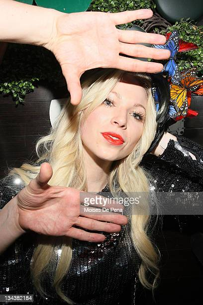 SPECIAL RATES APPLY Celebrity Makeup Artist Joyce Bonelli visits Greenhouse on July 2 2010 in New York City
