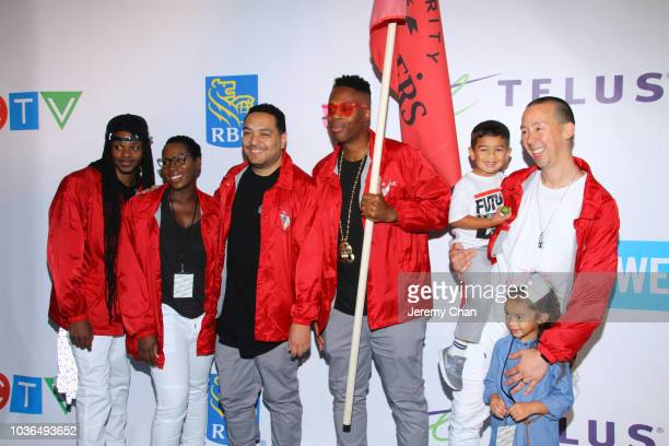 Celebrity Marauders arrive to WE Day Toronto and the WE Carpet at Scotiabank Arena on September 20 2018 in Toronto Canada