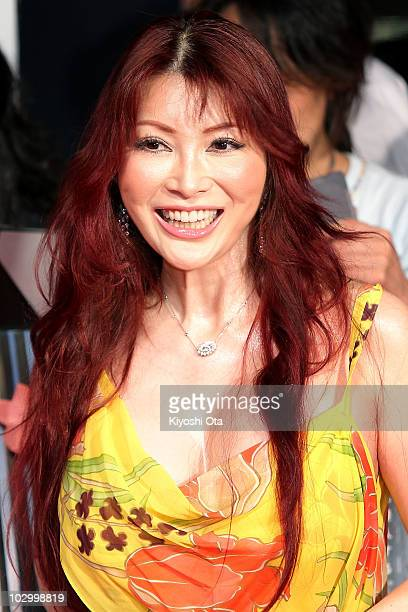 Celebrity Mika Kano attends the 'Inception' Japan Premiere at Roppongi Hills on July 20 2010 in Tokyo Japan The film will open in Japan on July 23