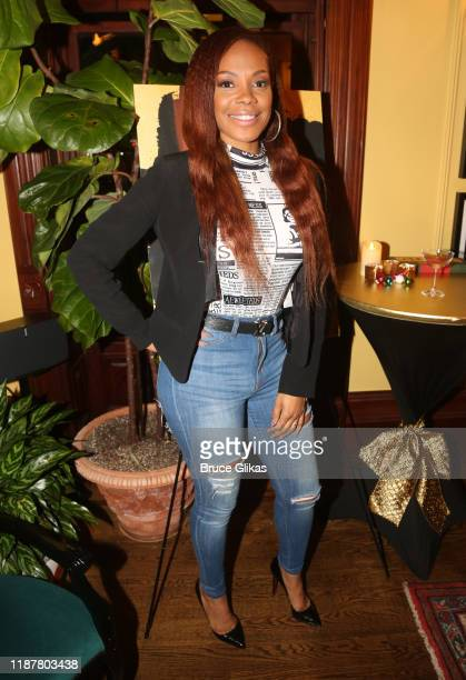 Celebrity Ortodontist Dr Bobbi Peterson poses at the celebration for the North of 40 Podcast Launch at Dapper Dan Atelier on November 14 2019 in New...