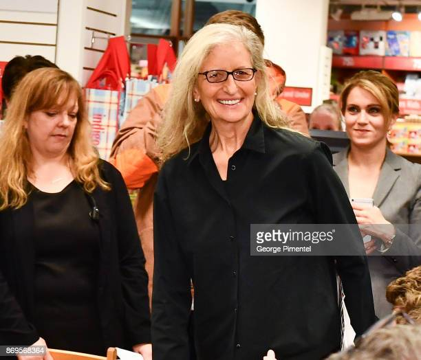 Celebrity Photographer Annie Leibovitz attends Annie Leibovitz Portraits 20052016 Book Signing at Indigo Manulife Centre on November 2 2017 in...