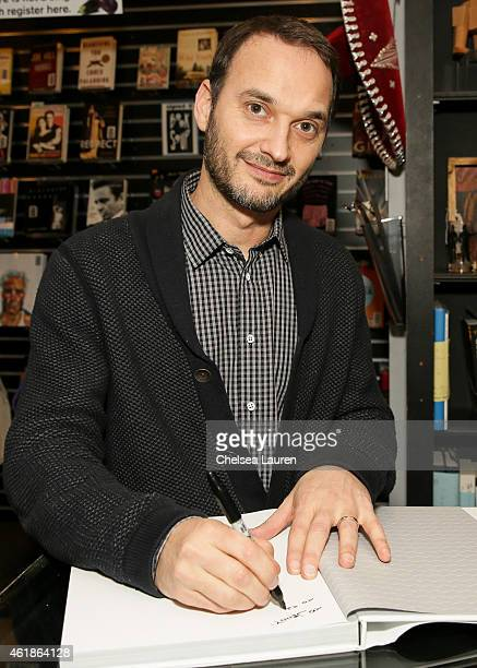 Celebrity photographer Jeff Vespa attends the signing for his book The Art of Discovery Hollywood Stars Reveal Their Inspirations at Book Soup on...