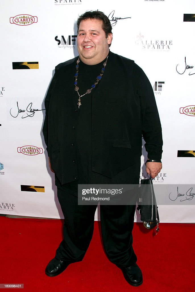 Celebrity phsychic Ronald H. Bard attends Jane Seymour Art Exhibition Opening Benefiting Open Hearts Foundation at Gallerie Sparta on October 3, 2013 in West Hollywood, California.