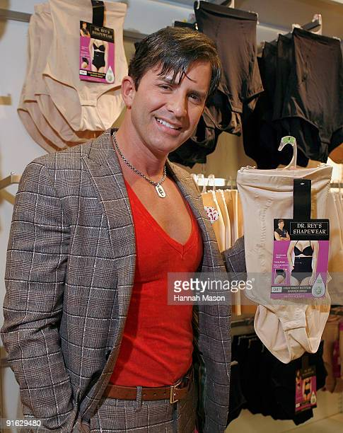 Celebrity Plastic Surgeon Dr Robert Rey during an appearance to launch the Shapewear range at Target on October 9 2009 in Melbourne Australia