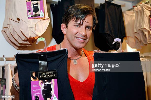 f5804196f0 Celebrity Plastic Surgeon Dr Robert Rey during an appearance to launch the Shapewear  range at Target
