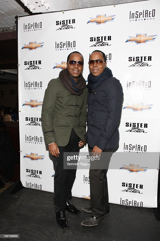 Celebrity publicists Antoine Von Boozier and Andre Von Boozier attend the 13th Inspired In New York Honors at the Faison Firehouse Theatre on December 13, 2011 in New York City.