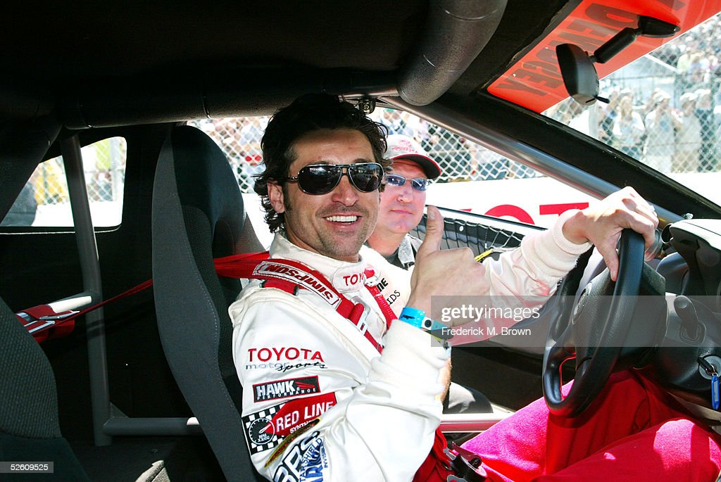 Celebrity Race Car Driver Actor Patrick Dempsey Attends The 29th