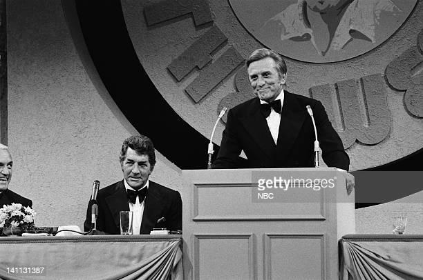 HOUR Celebrity Roast Kirk Douglas Pictured Ted Knight host Dean Martin roastee Kirk Douglas Photo by Gary Null/NBC/NBCU Photo Bank