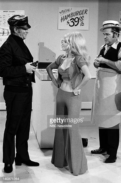 HOUR 'Celebrity Roast of Ed McMahon' Pictured Dean Martin as Robber Charo as Customer Dom DeLuise as Butcher in a Butcher Shop Robbery Skit Photo by...