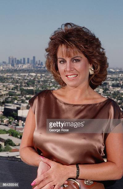 Celebrity sex scandal survivor Jessica Hahn poses during a 1988 West Hollywood California photo portrait session Hahn was the central figure in the...