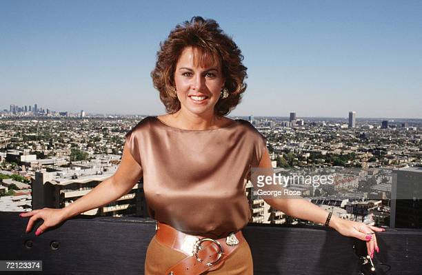 Celebrity sex scandel survivor Jessica Hahn poses during a 1988 West Hollywood California photo portrait session Hahn was the central figure in the...