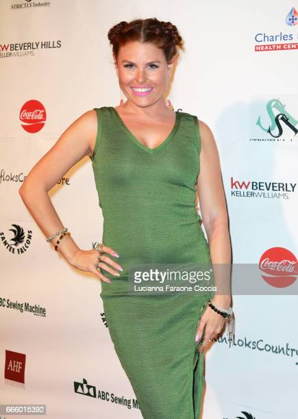 Celebrity stylist Ali Levine attends the Santee High School Fashion Show at Los Angeles Trade Technical College on April 7 2017 in Los Angeles...