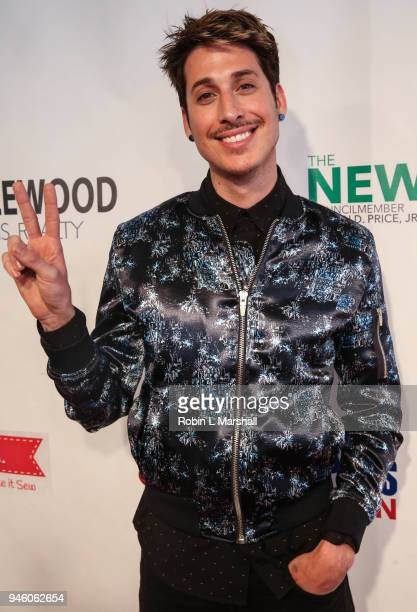 Celebrity Stylist Anthony Pazos attends the 12th Annual Santee High School Fashion Show at Los Angeles Trade Technical College on April 13 2018 in...