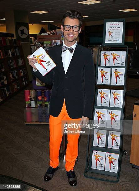 Celebrity Stylist / Author Brad Goreski promotes the new book Born to be Brad My Life and Style So Far at Barnes Noble at FIT on March 7 2012 in New...