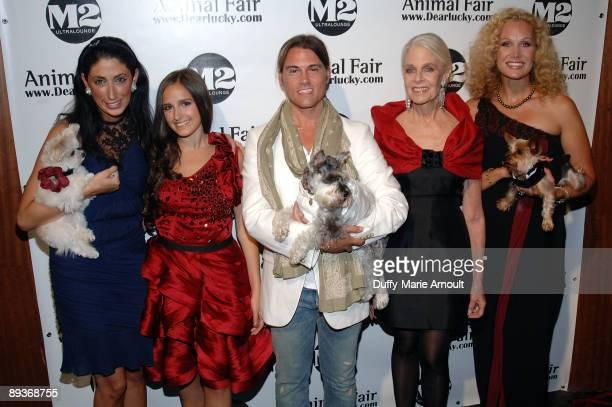 Celebrity stylist Lauren Rae Levy TV personality Kelli Tomashoff designer Keith Lissner philanthropist Francis Hayward and Morgan Schick attend...