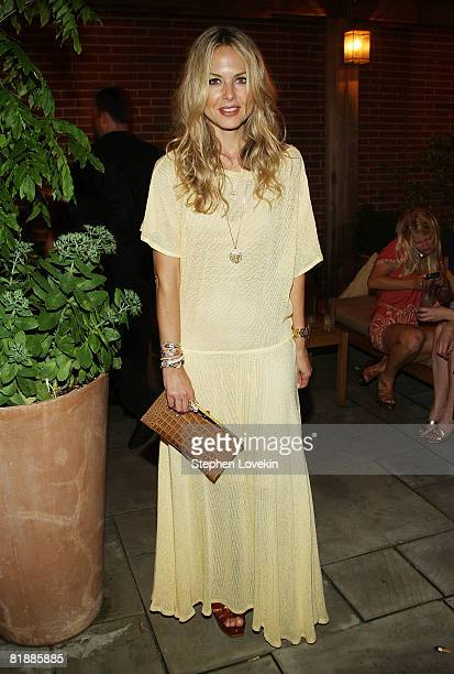 """Celebrity stylist Rachel Zoe attends the after party for """"August"""" at the Soho Grand Hotel on July 9, 2008 in New York City."""