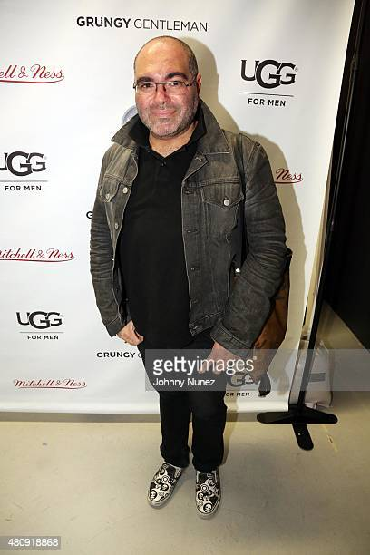 Celebrity stylist/TV personality Nolé Marin attends the Grungy Gentleman fashion show at The Supermarket during New York Fashion Week Men's S/S 2016...