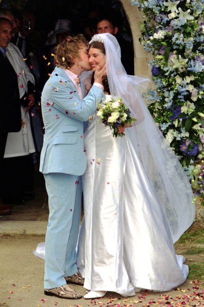 Jamie oliver wedding kiss pictures getty images jamie oliver wedding kiss junglespirit Images