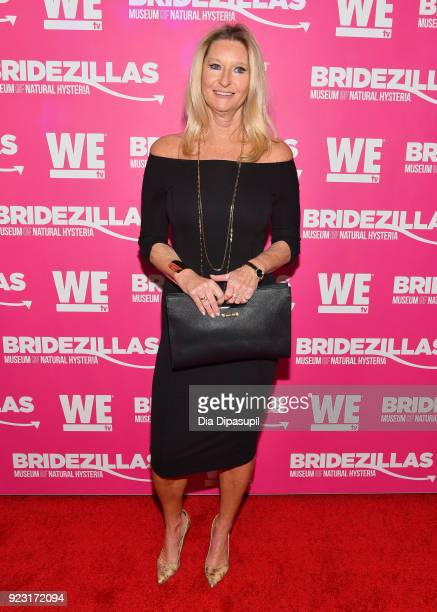Celebrity Trainer Donna Sexton attends WE tv Launches Bridezillas Museum Of Natural Hysteria on February 22 2018 in New York City