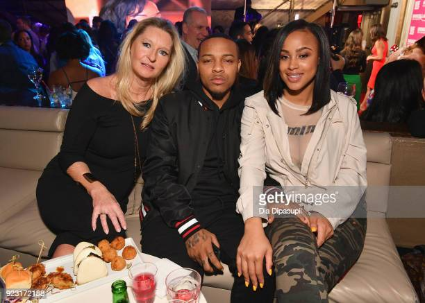 Celebrity Trainer Donna Sexton Bow Wow and guest attend WE tv Launches Bridezillas Museum Of Natural Hysteria on February 22 2018 in New York City