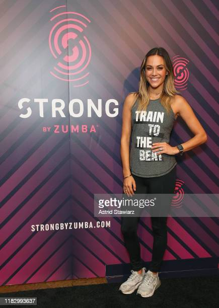 Celebrity trainer Erin Oprea and actress/singer Jana Kramer celebrate Erin's new partnership and routines with high-intensity fitness brand, STRONG...