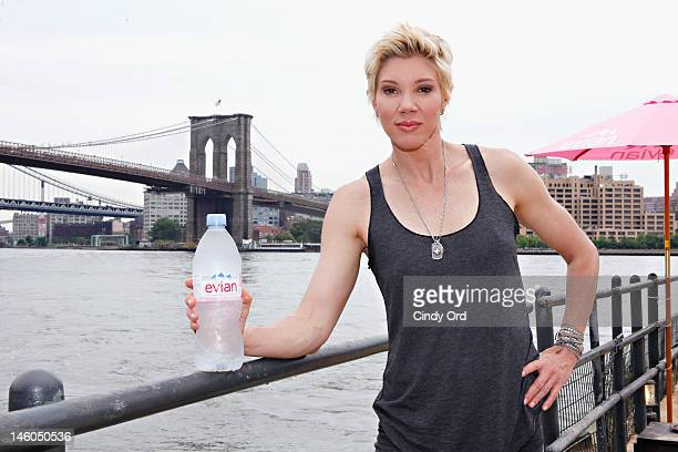 Celebrity trainer Jackie Warner participates in evian Presents Live Young Get Fit With Jackie Warner on June 9 2012 in New York City