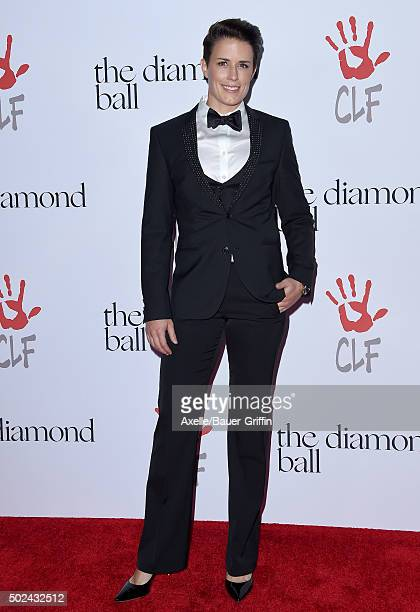 Celebrity trainer Jamie Granger arrives at Rihanna and The Clara Lionel Foundation Host 2nd Annual Diamond Ball at The Barker Hanger on December 10...